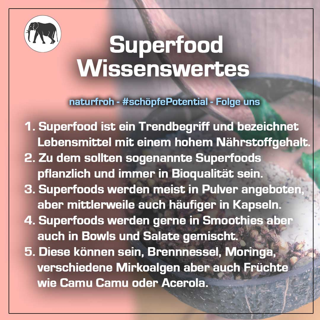 Superfood Pulver