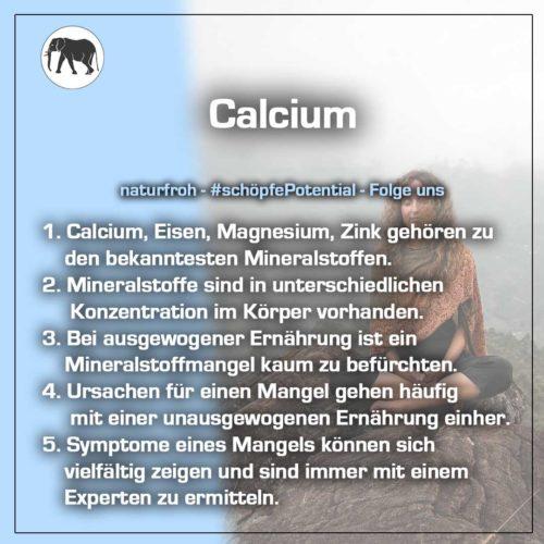 Calcium Wirkung