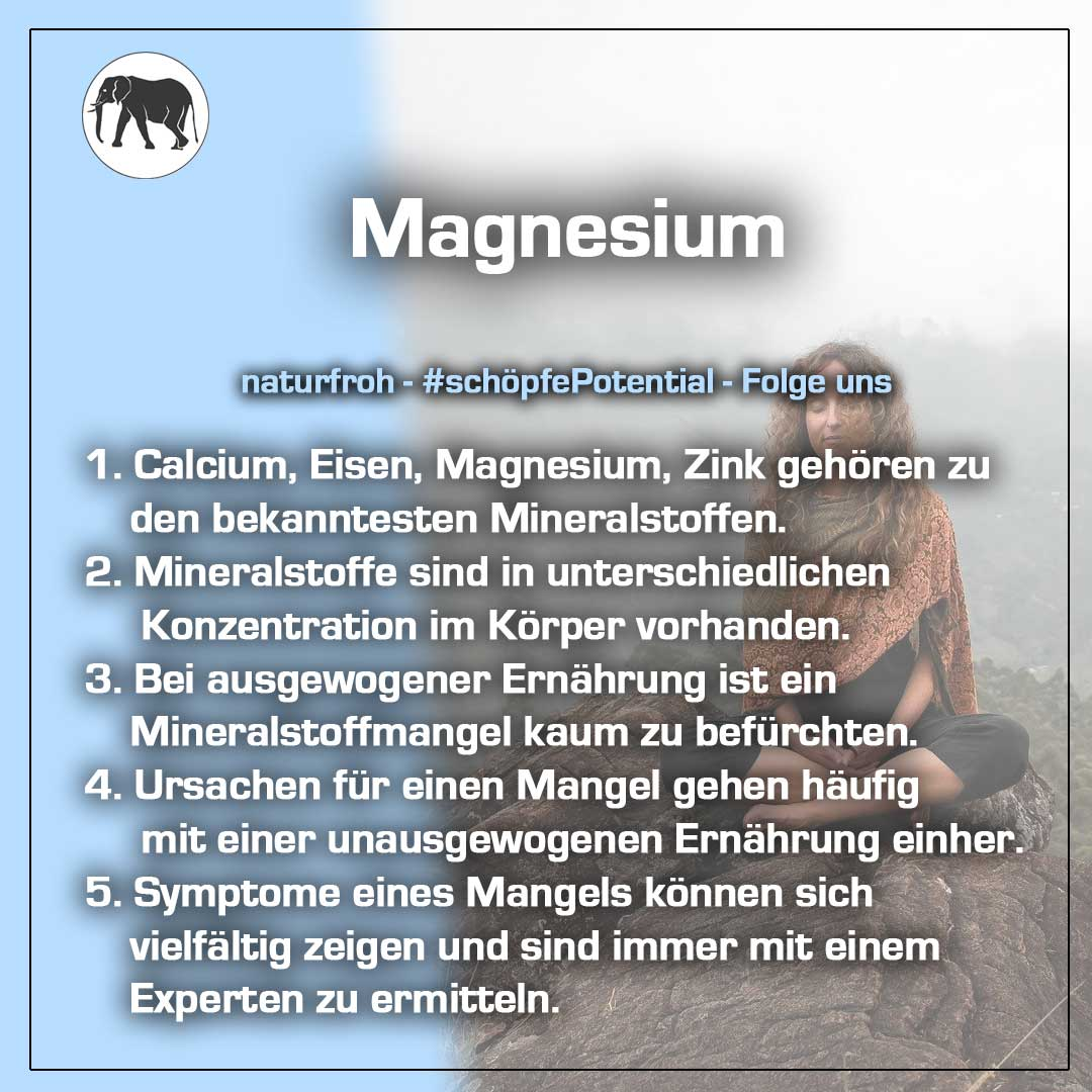 Magnesium Wirkung