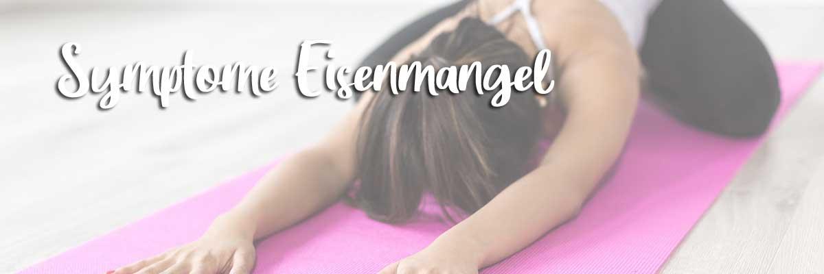 Symptome Eisenmangel