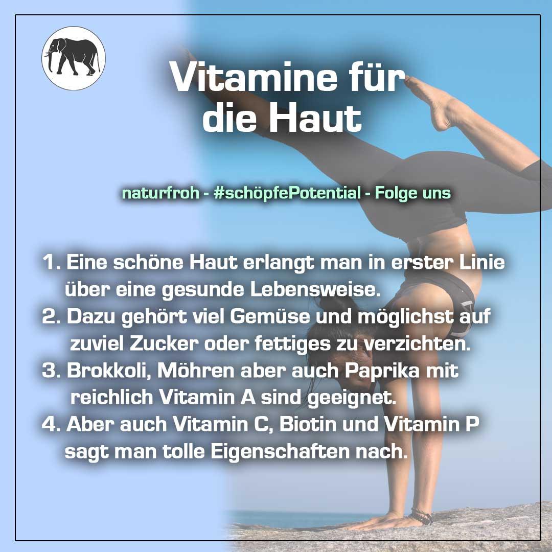 Vitamine Haut