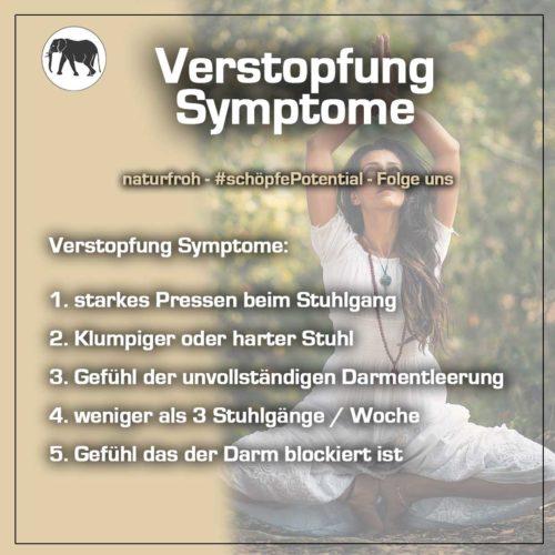 Verstopfung Symptome